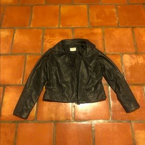 CLOSET CLEAR OUT! faux leather jacket